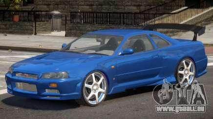 Skyline GT-R34 V1 pour GTA 4