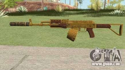 Assault Rifle GTA V Suppressor (Box Clip) pour GTA San Andreas