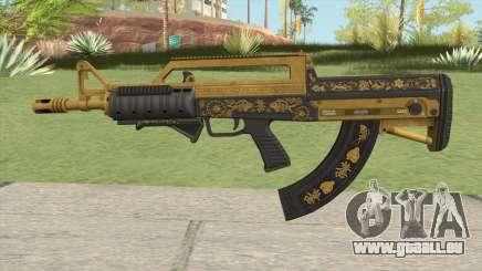 Bullpup Rifle (Grip V2) Main Tint GTA V für GTA San Andreas