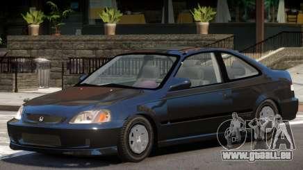 Honda Civic Stock V1 pour GTA 4
