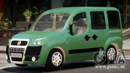 Fiat Doblo V1.0 pour GTA 4