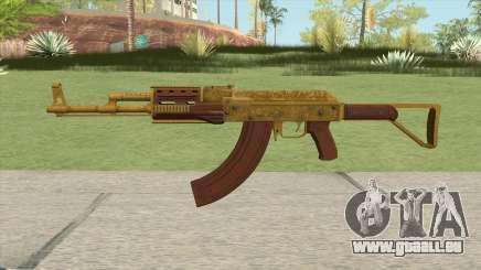 Shrewsbury Assault Rifle GTA V (Extended Clip) pour GTA San Andreas