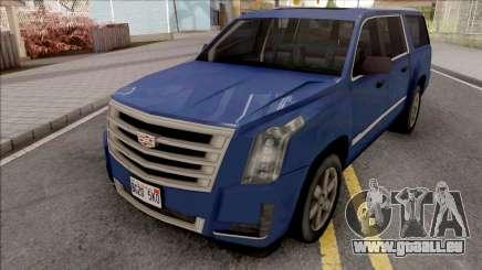 Cadillac Escalade 2016 Lowpoly v2.0 pour GTA San Andreas