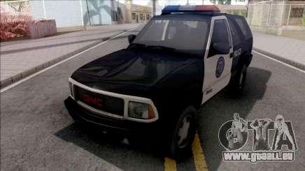 GMC Jimmy 2001 Police pour GTA San Andreas