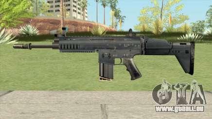 SCAR-H Black (Soldier Front 2) pour GTA San Andreas