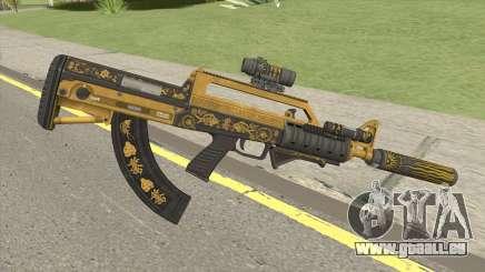 Bullpup Rifle (Complete Upgrade) Main Tint GTA V für GTA San Andreas