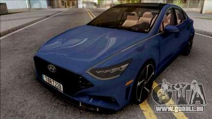 Hyundai Sonata Turbo 2020 pour GTA San Andreas