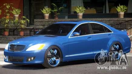 Mercedes S-Class W221 Tun pour GTA 4