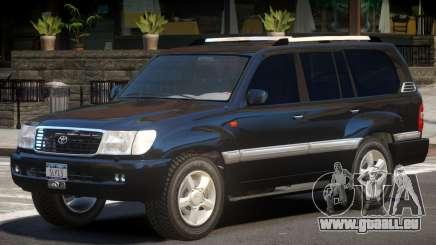 Toyota Land Cruiser 100 V1.0 pour GTA 4