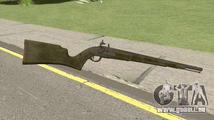 Edinburgh Musket (Green) GTA V für GTA San Andreas