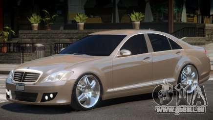 Mercedes Benz W221 Brabus pour GTA 4