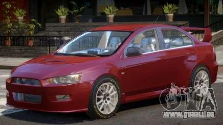 Mitsubishi Lancer X V1.0 pour GTA 4