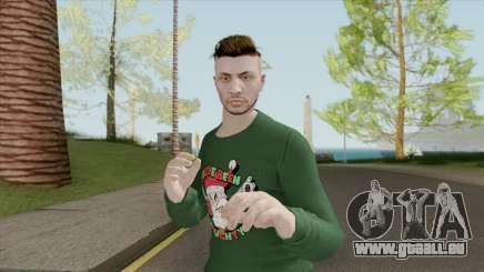 Male Skin (New Year) GTA V Online für GTA San Andreas
