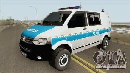 Volkswagen Transporter T6 (Policja KSP) für GTA San Andreas
