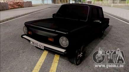 ZAZ 968M Tuning Noir pour GTA San Andreas