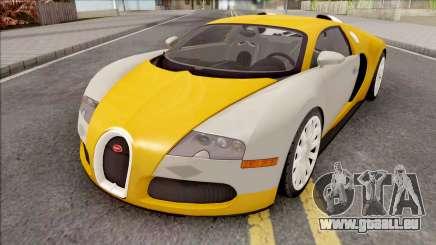 Bugatti Veyron HQ Interior für GTA San Andreas