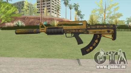 Bullpup Rifle (Suppressor V2) Main Tint GTA V für GTA San Andreas