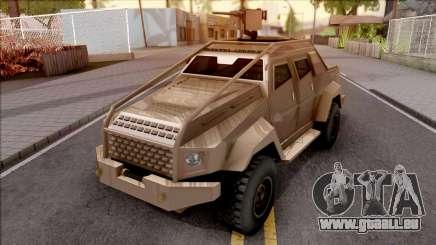 GTA V HVY Insurgent Pick-Up SA Style pour GTA San Andreas