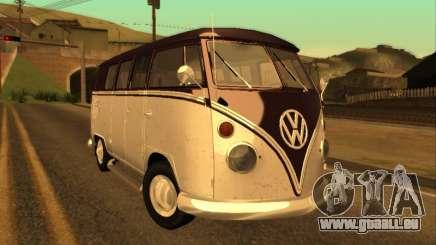 Volkswagen Bus Typ 2 1965 für GTA San Andreas