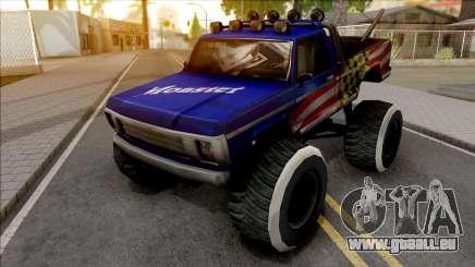 New Monster Truck für GTA San Andreas