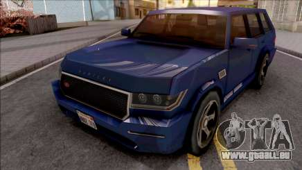 Vapid Huntley V8 Sport VR 4.8i 2016 Low Poly pour GTA San Andreas