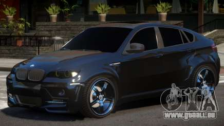 BMW X6 V1.0 pour GTA 4
