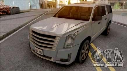 Cadillac Escalade 2016 Lowpoly für GTA San Andreas
