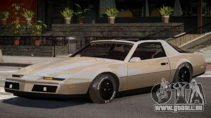 1982 Pontiac Trans Am pour GTA 4