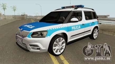 Skoda Yeti (Policja KSP) für GTA San Andreas