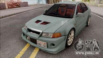Mitsubishi Lancer GSR Evolution VI 1999 v2 pour GTA San Andreas