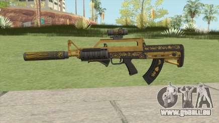 Bullpup Rifle (Three Upgrade V3) Main Tint GTA V für GTA San Andreas
