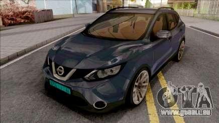 Nissan Qashqai IVF pour GTA San Andreas