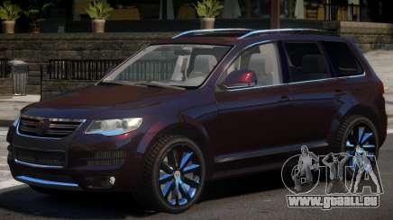 Volkswagen Touareg Tuned pour GTA 4