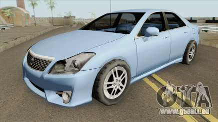 Toyota Crown Athlete (SA Style) 2010 pour GTA San Andreas