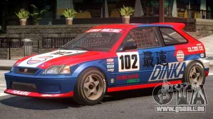 Dinka Blista Compact V1 PJ6 für GTA 4