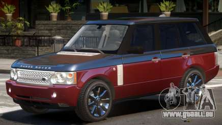 Range Rover Supercharged Y8 pour GTA 4