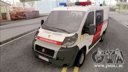 Fiat Ducato Katasztrofavedelem für GTA San Andreas