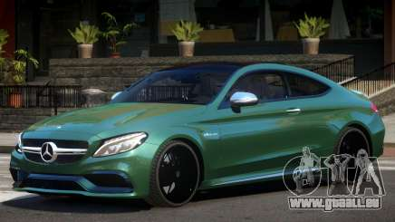 Mercedes C63 S AMG V1 pour GTA 4