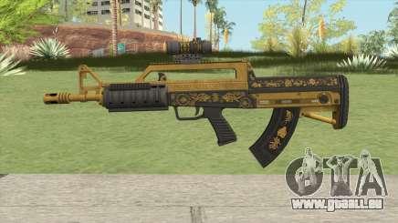 Bullpup Rifle (Scope V1) Main Tint GTA V für GTA San Andreas