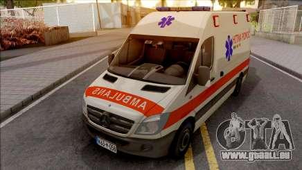 Mercedes-Benz Sprinter Ambulans Hitna Pomoc für GTA San Andreas