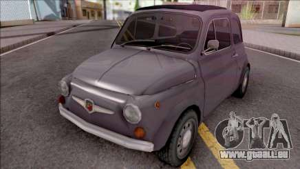 Fiat Abarth 595 SS 1968 Standart Wheels für GTA San Andreas