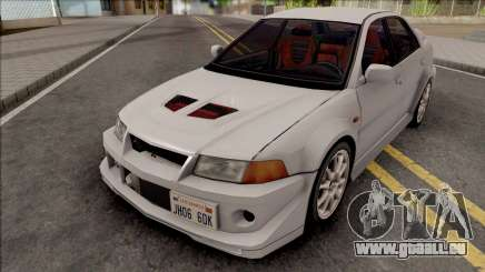 Mitsubishi Lancer GSR Evolution VI 1999 pour GTA San Andreas