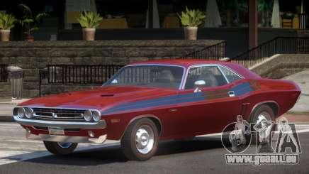 1971 Dodge Challenger R1 pour GTA 4