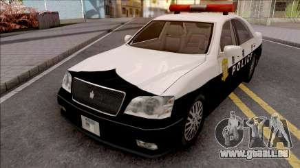 Toyota Crown S170 Patrol Car SA Style pour GTA San Andreas