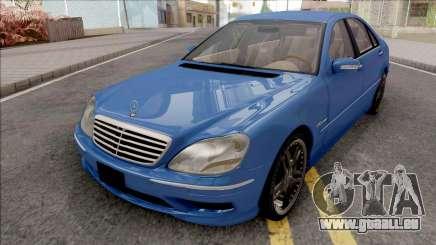 Mercedes-Benz W220 S65 AMG pour GTA San Andreas