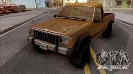 Jeep Comanche v2 pour GTA San Andreas