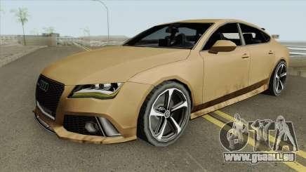 Audi RS7 2014 (Black Interior) pour GTA San Andreas