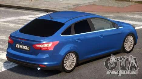 Ford Focus 3 V1.1 pour GTA 4