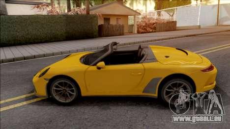 Porsche 911 Speedster 2020 pour GTA San Andreas