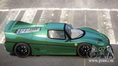 1995 Ferrari F50 V1.1 pour GTA 4